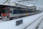Dieser Zug hat die Winterräder bereits montiert, blöderweise sind sie aber festgefroren.