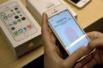 Das neue iPhone 6 hat dieses Bild vom aktuellen iPhone 5s gemacht! Bild: Andy Wong/AP/KEYSTONE