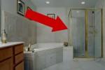 Das Pissoir passt optisch problemlos zum bereits vorhandenen Interieur.